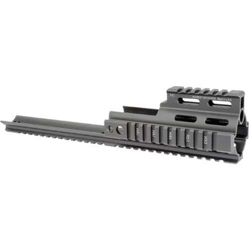 Midwest Industries SCAR Rail Extension Rail Black